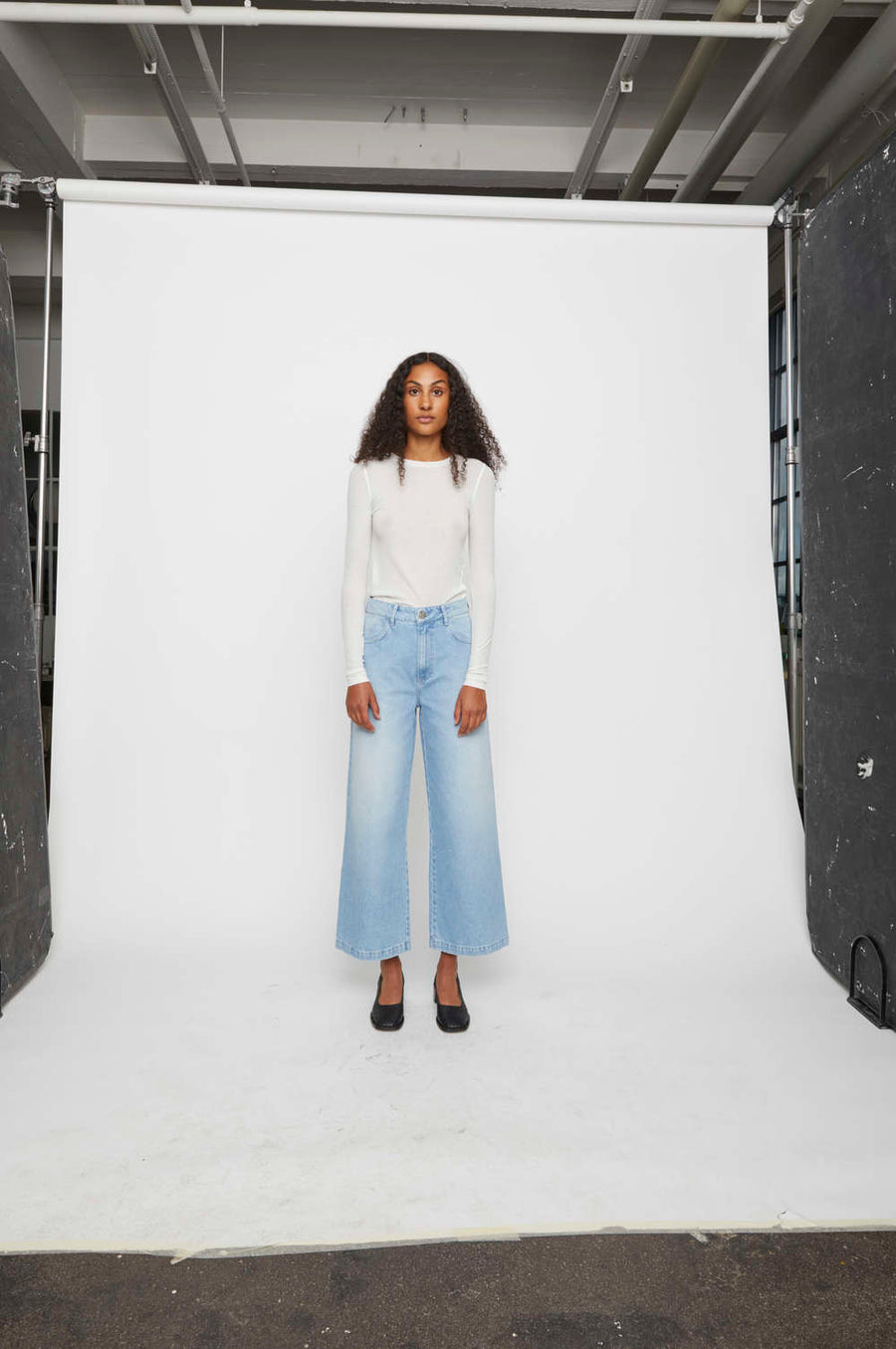 Calm Jeans lightblue JUST FEMALE