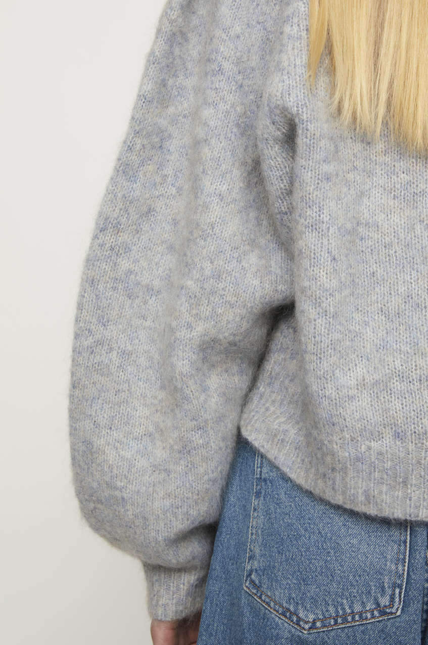 Girona Mohair Knit Sweater JUST FEMALE