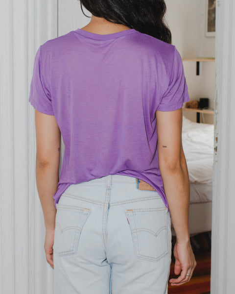 Tee Shirt chay purple BASERANGE