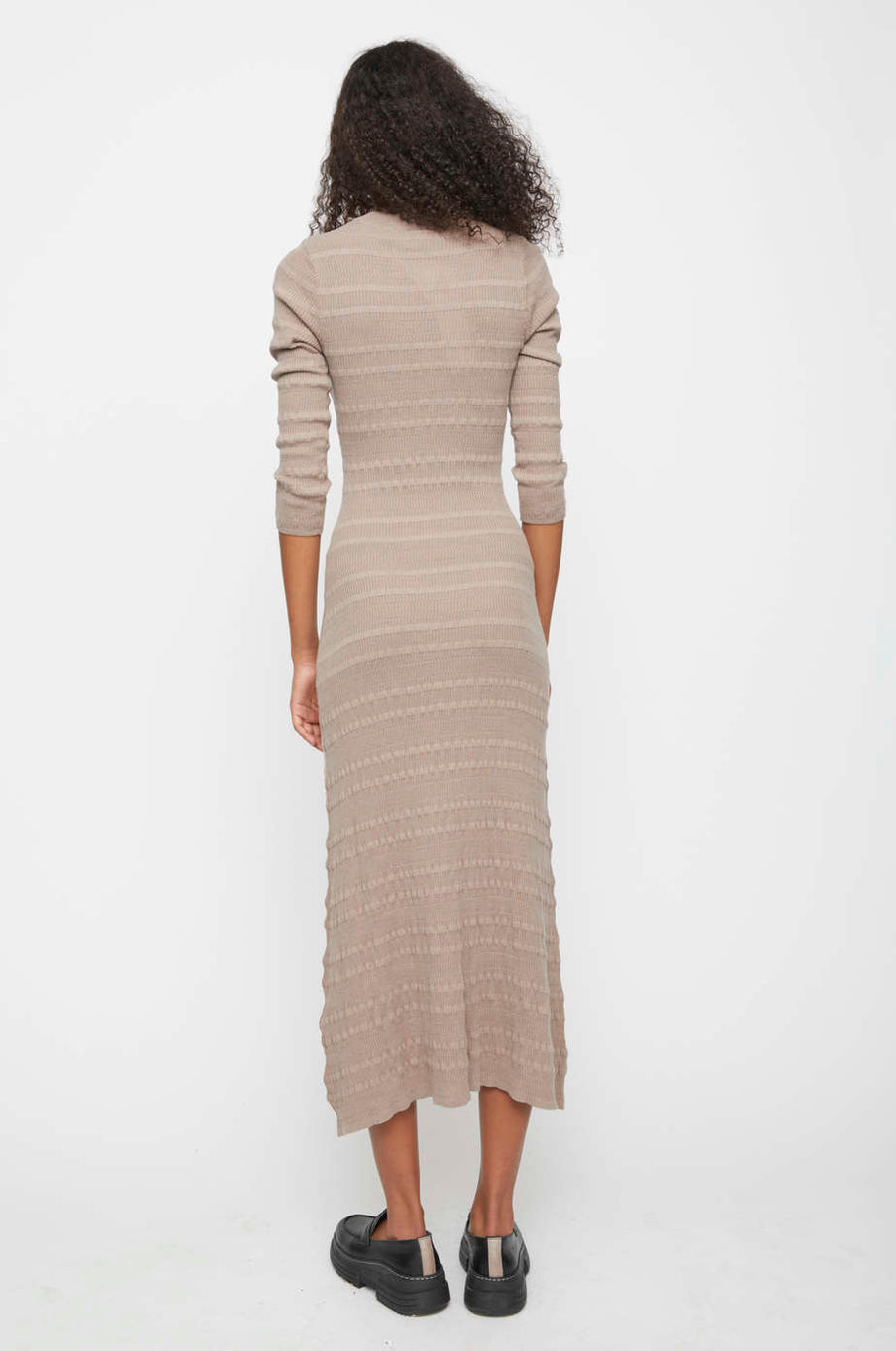 Sanya Knit Maxi Dress JUST FEMALE