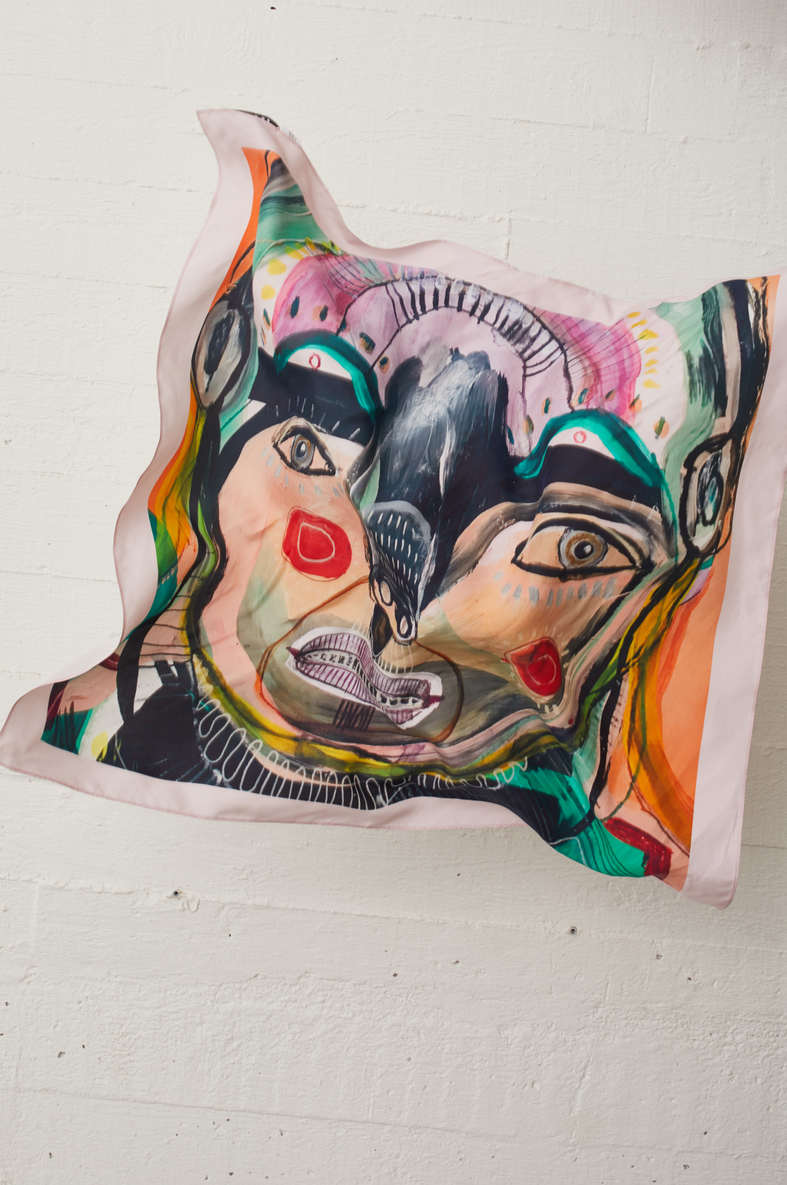 Sjulle Silk Scarf JUST FEMALE