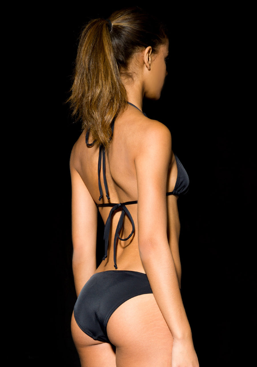 Triangle Bikini Top black SIGHTLINE