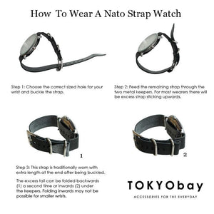 The NATO Watch Strap & How To Wear It... | Tokyobay