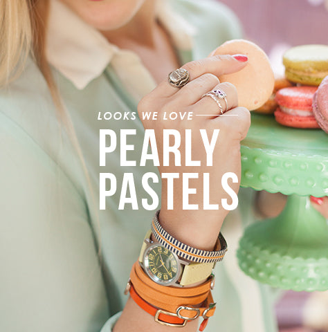 Pearly Pastel Shop The look