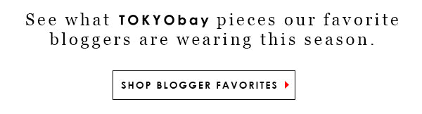 See what TOKYObay watches our favorite bloggers are wearing this season. Shop Collection.