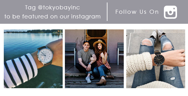 Tag @tokyobayinc on Instagram to show us your TOKYObay watch and how you style it up. Follow us to see what we're up to for a time well spent.