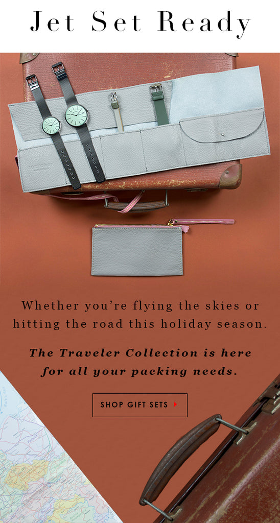 Jet Set Ready. Whether you are flying the skies or hitting the road this holiday season...The Traveler Collection is here for all your packing needs.