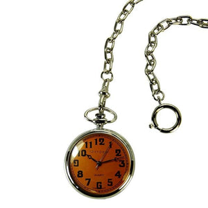 Eddie Pocket Watch - Orange - Tokyobay