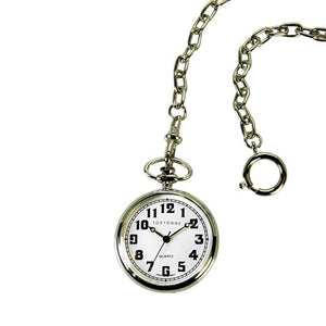 Eddie Pocket Watch - White - Tokyobay