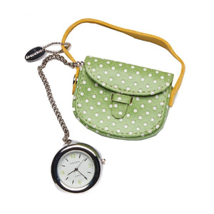 Purse Polka Dot Charm - Green - Tokyobay