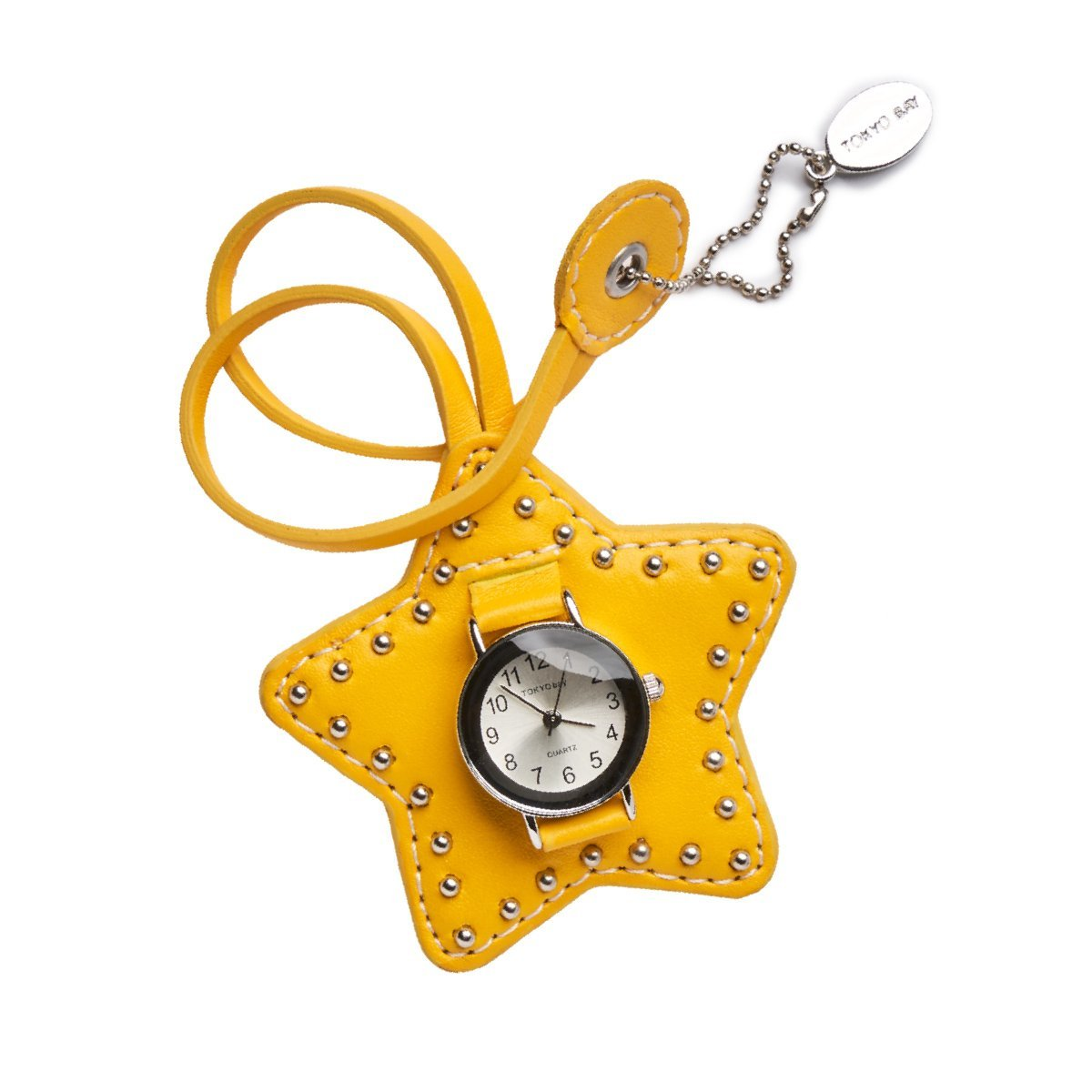 Studded Star Charm - Yellow - Tokyobay
