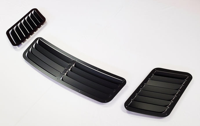 BMW E36 3-Series M3 V2 Hood Vent Kit Louver Heat Extractor Kit