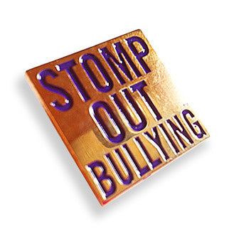 STOMP Out Bullying Pin
