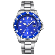 Load image into Gallery viewer, CURDDE Men Fashion Military Stainless Steel Date Sport Quartz Analog Wrist Watch