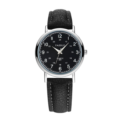 Top Brand Men'S Watch Fashion Casual Watch Leather Watch