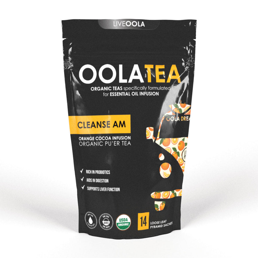 Cleanse A.M.: Orange Cocoa Infusion (14 sachets)