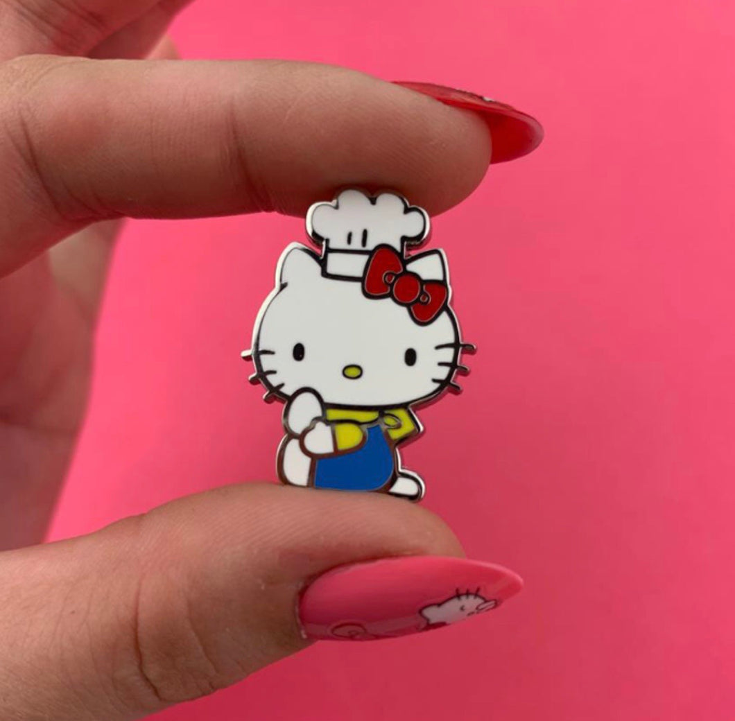 Hello Kitty chef enamel pin - Erstwilder x Hello Kitty