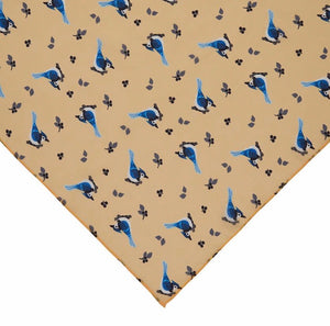 The Blue Jay Way Head Scarf - Erstwilder - Woodlands collection