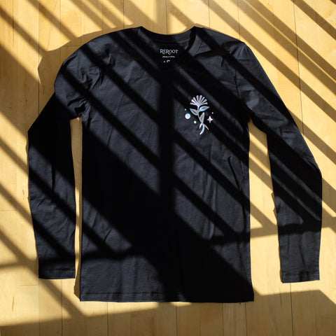 HOLOGRAPHIC LONG SLEEVE- 40% off