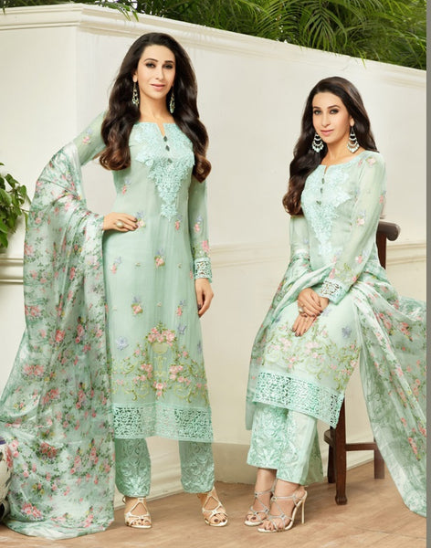 Mix colour Designer Salwar suit  S0005