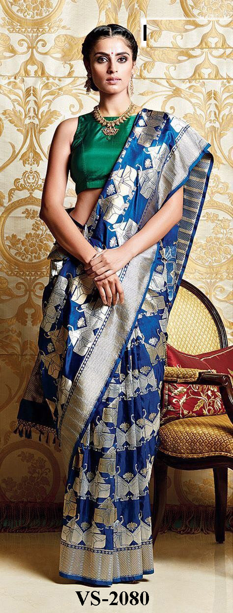 Awesome Colour Soft Silk Designer Saree MF30154