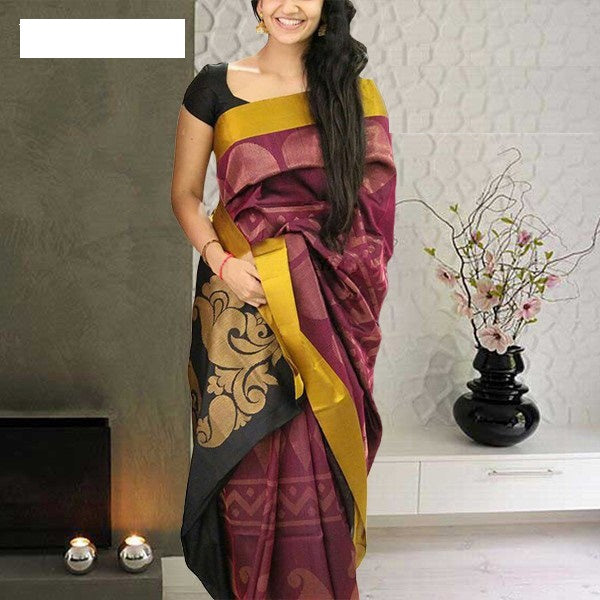 Beautiful Colour Soft Silk Designer Saree MF30159