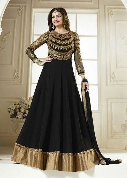 Black Very NIce Designer Salwar suit  S0004