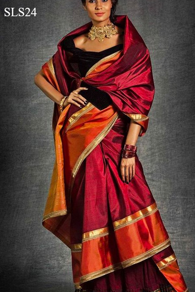 South Indian Soft Silk Designer Saree 6165