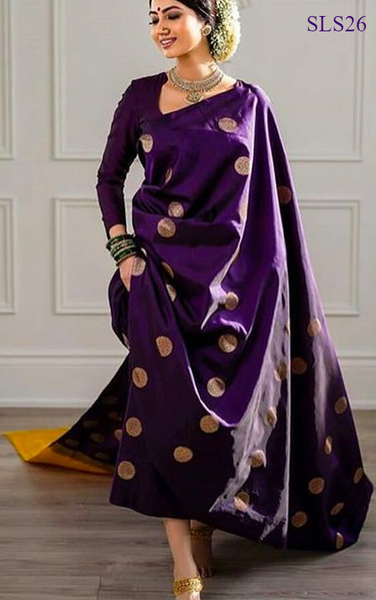 South Indian Soft Silk Designer Saree 6167