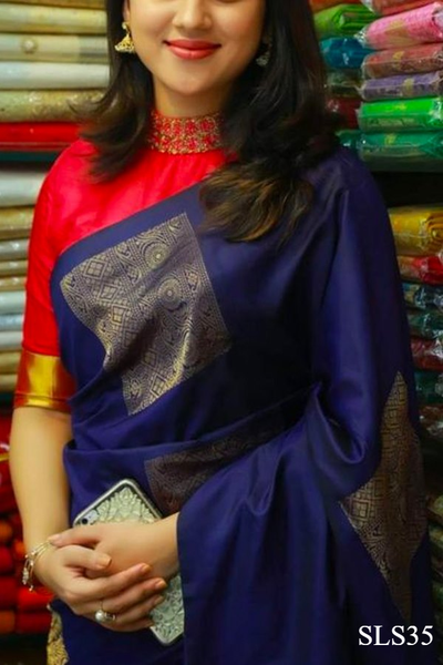 South Indian Soft Silk Designer Saree 6173
