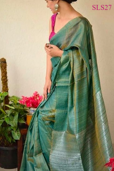 South Indian Soft Silk Designer Saree 6186