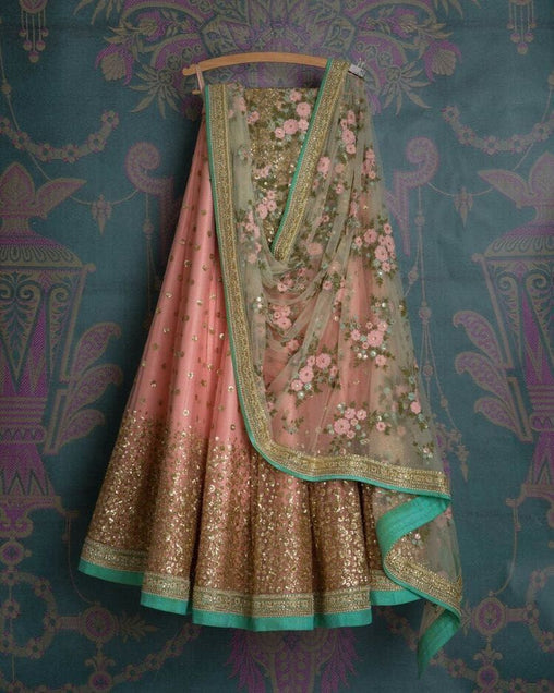 Awesome Designer Embroidered Lehenga Choli LC296