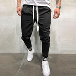 Personalized Stitching Cotton Casual Beam Pants