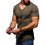 Arm Pocket  Short T-Shirts