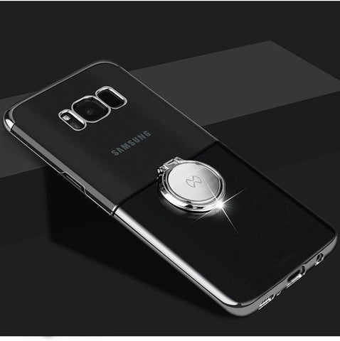 Luxury Magnetic Ring Holder Phone Case For Samsung Galaxy S8/S8 Plus