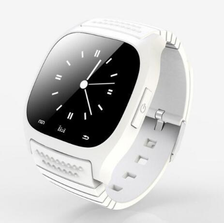 Sport Bluetooth Smart Watch Luxury Wristwatch M26 With Dial SMS Remind Pedometer For Android