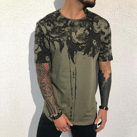 Men's Fashion Tie-Dyed Casual T-Shirt