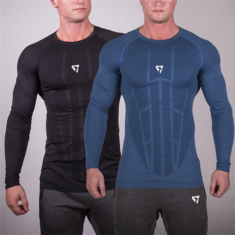 Fitness Fashion Fast Drying Long Sleeve T-Shirt