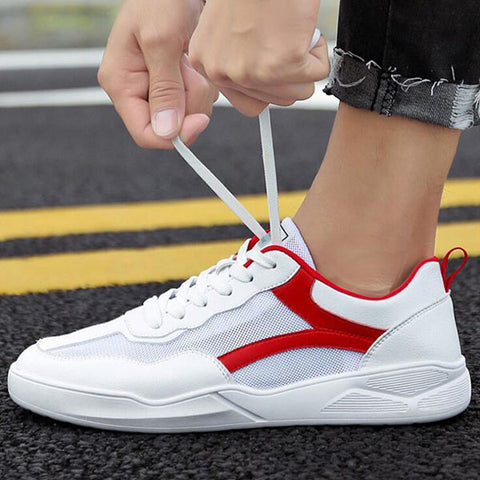 Men's Breathable Mesh Sports Shoes Trend Casual Shoes