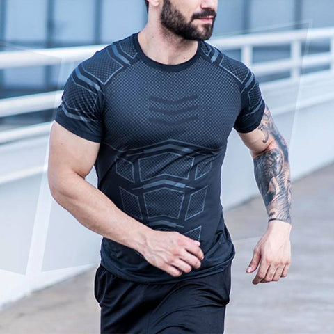 Fitness Fashion Breathable Fast Drying T-Shirt
