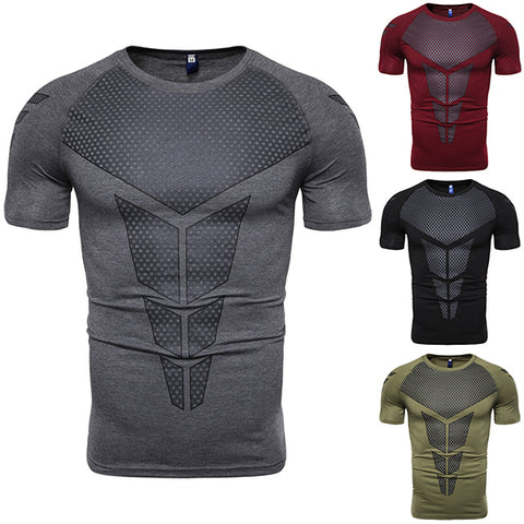 Fitness Fashion Tight Fast Drying Professional Training T-Shirt