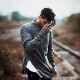 Men's Loose Long-Sleeved Top