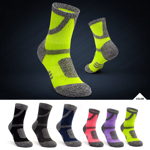 Sweat absorption warm and thick breathable leisure sports socks