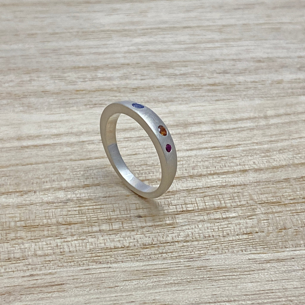 Seconds - Balance and Play Gemstone Ring