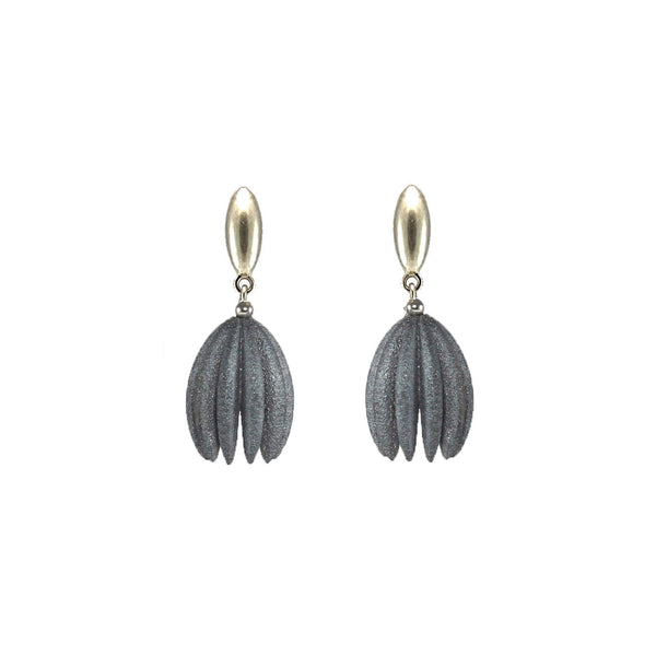 Silver Hula Earrings