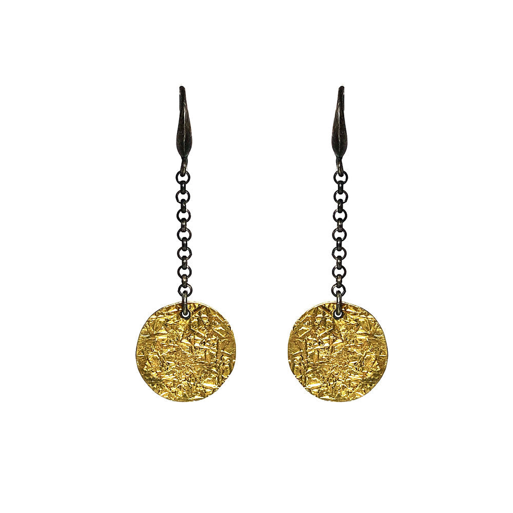 Jenny-Fahey-textured-18ct-gold-and-oxidised-silver-chain-drop-earringsweb.jpg