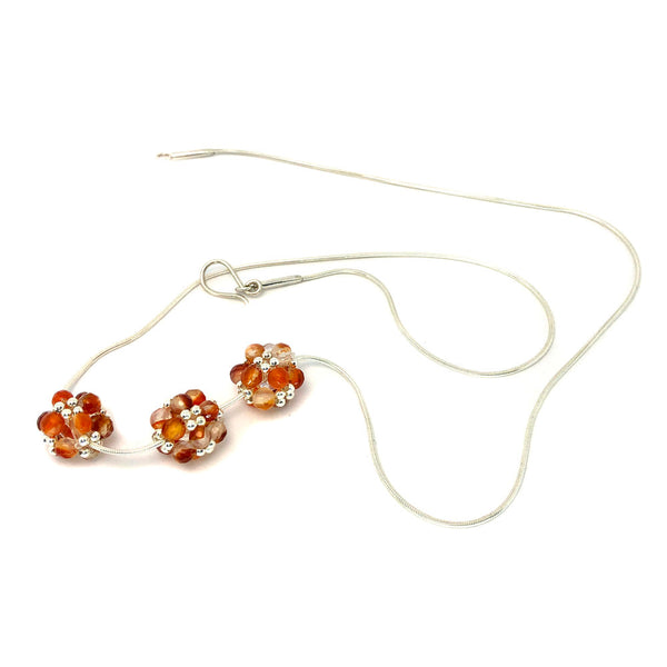 Jenny Fahey 3 beaded ball carnelian necklacev2.jpg