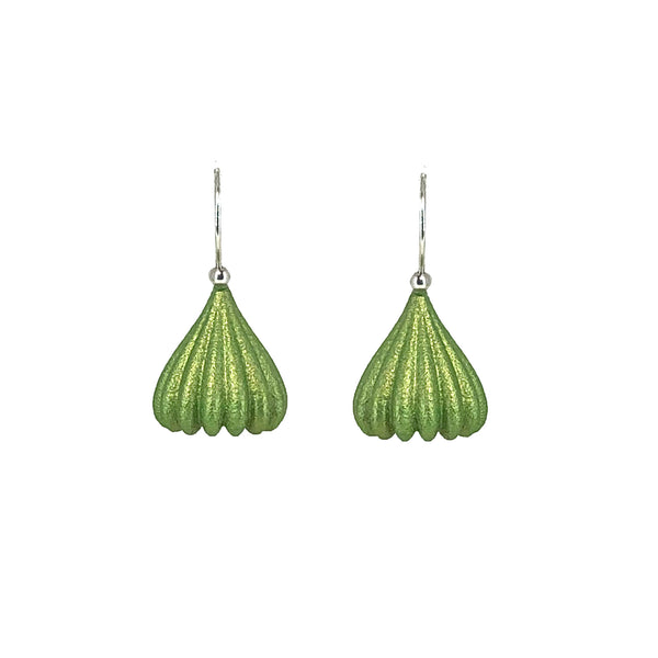 Lime Small Pod Earrings