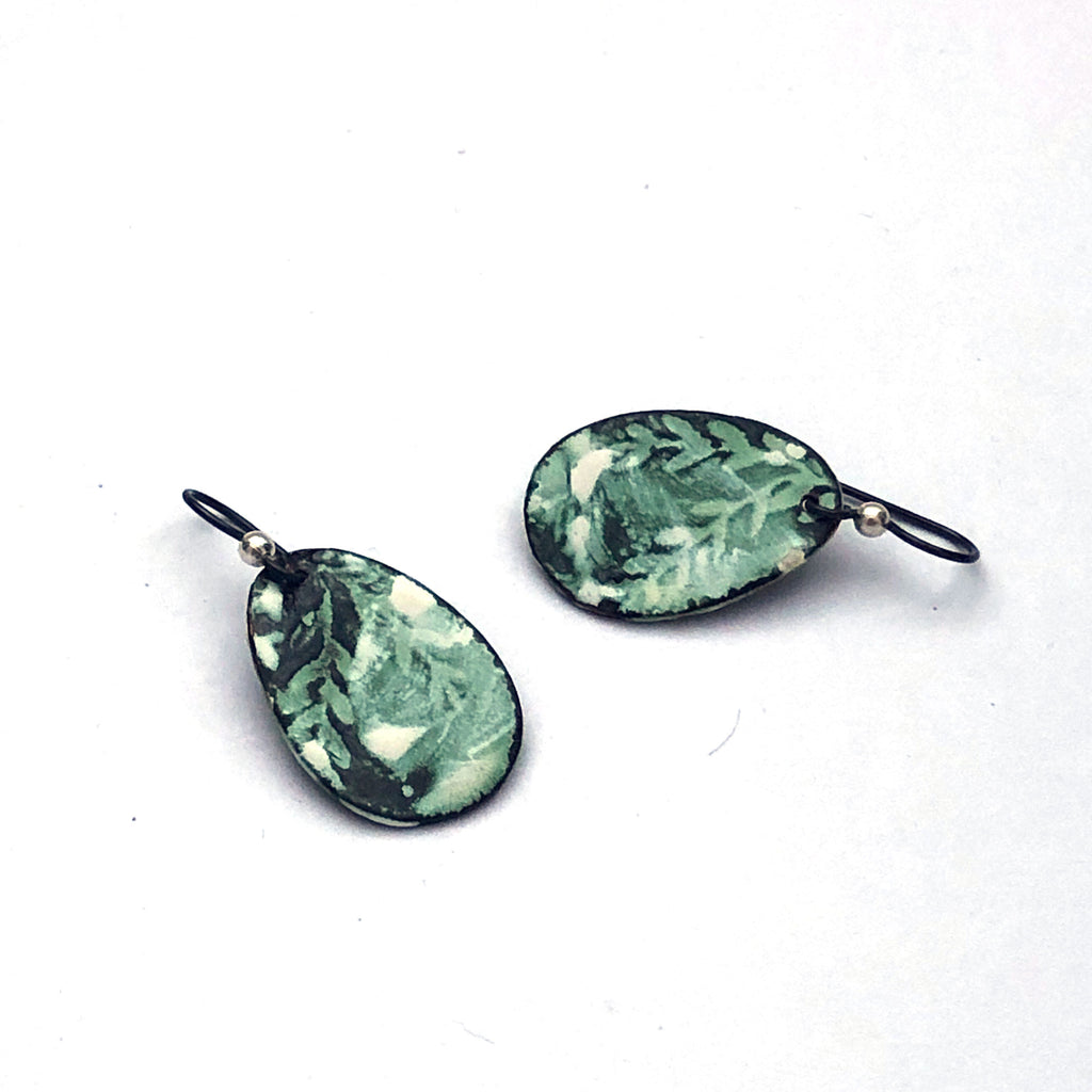 Jennifer Fahey Vitreous Enamel Earrings