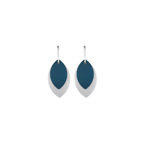 teal aluminium leaf earrings.jpg
